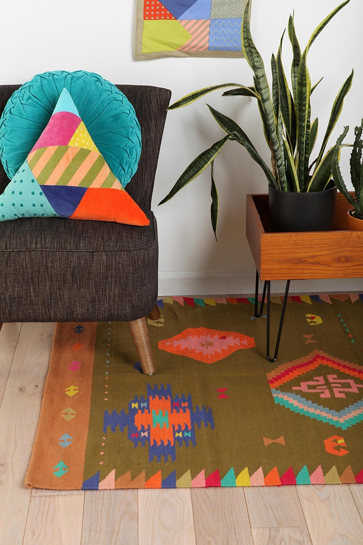 Beci Orpin Kilim Rug for urban outfitters