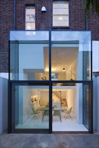Hoxton House, Hackney, was the overall winner of the New London Architecture's 'Don't Move, Improve!' competition to find London's best home extension.