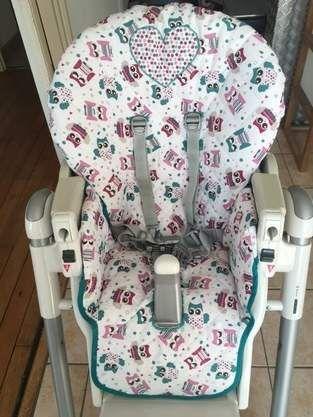 Les 25 meilleures id es de la cat gorie housse chaise for Housse chaise haute prima pappa