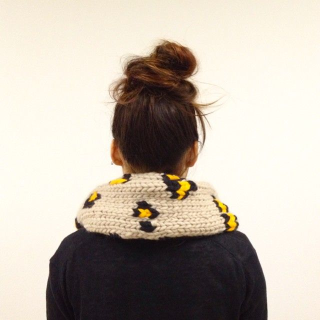 "@giiton's photo: ""PLAYIN' AROUND SCARF*"