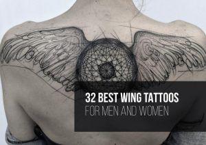 32 Best Wing Tattoo Designs | TattooBlend