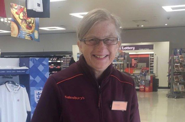 This Man Has Thanked Sainsbury's For Letting His Mum Work While Living With Alzheimer's