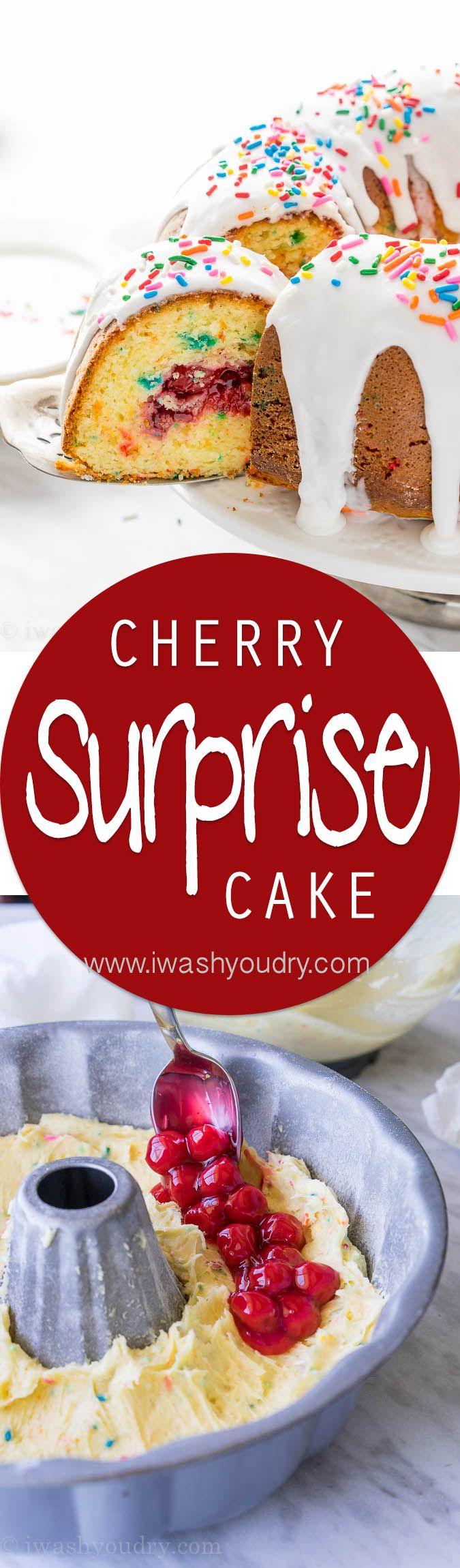Cherry Surprise Cake