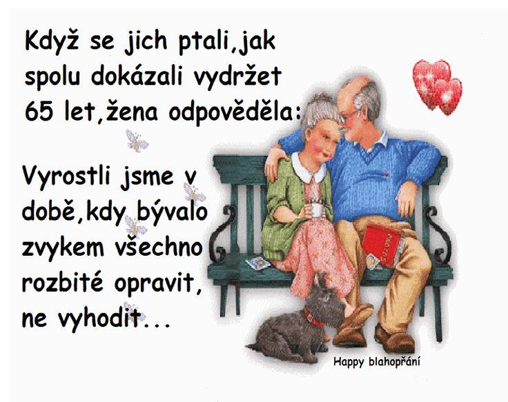 Když se jich ptali, jak spolu dokázali vydržet 65 let, žena odpověděla: Vyrostli jsme v době, kdy bývalo zvykem všechno rozbité opravit, ne vyhodit...