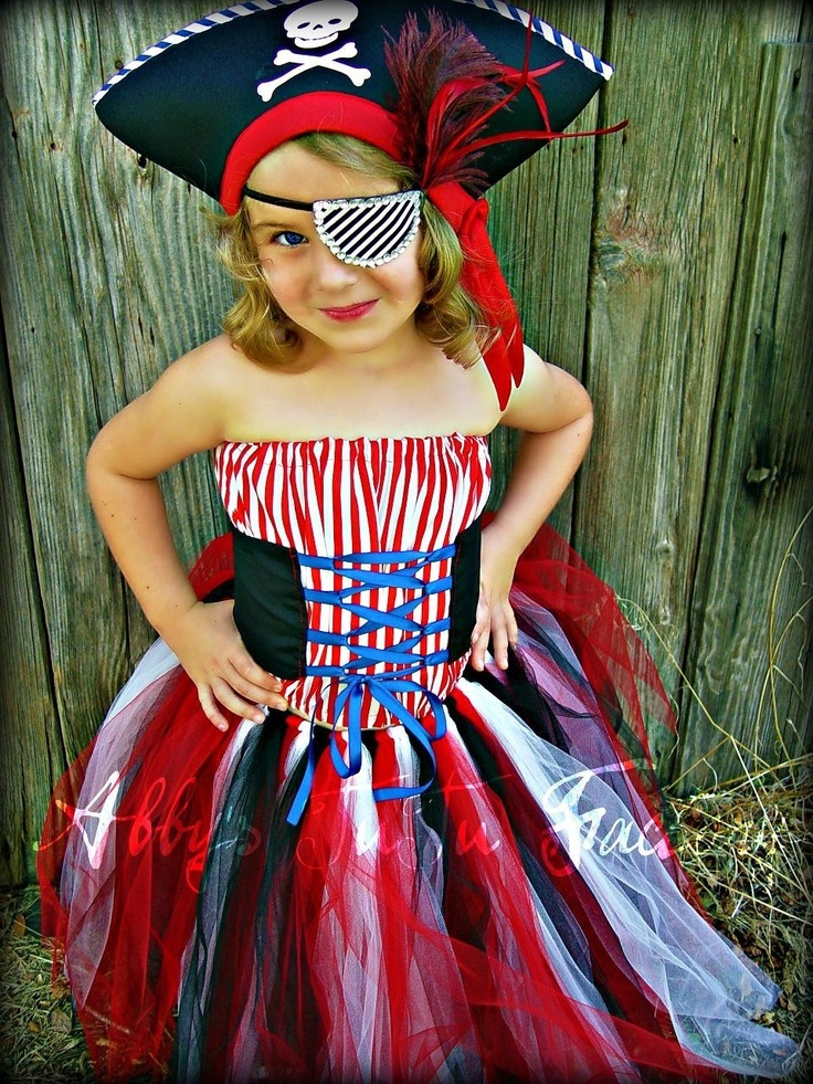 Love this pirate costume - could be worked for an adult costume