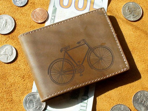 Cool Mens Wallets & Small Leather Wallet by urbanwrist on Etsy