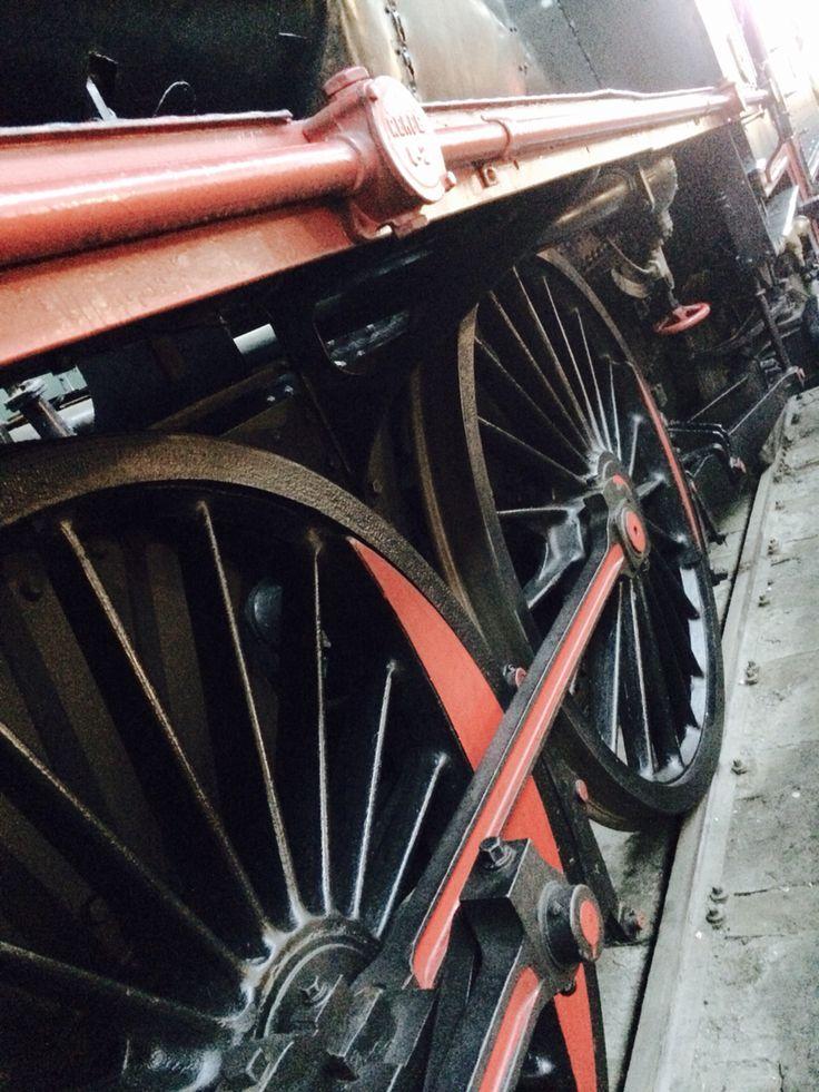 Romanticismo en el tren... Imaginando tiempos antiguos