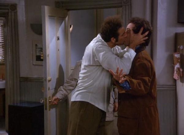 love.: Things Seinfeld, The Kiss, 1995Jerri Seinfeld, Kiss Hellofebruari, Seinfeld Kramer, Seinfeld Boards, Fabulous Kiss, Tv Movie, I Don'T Care
