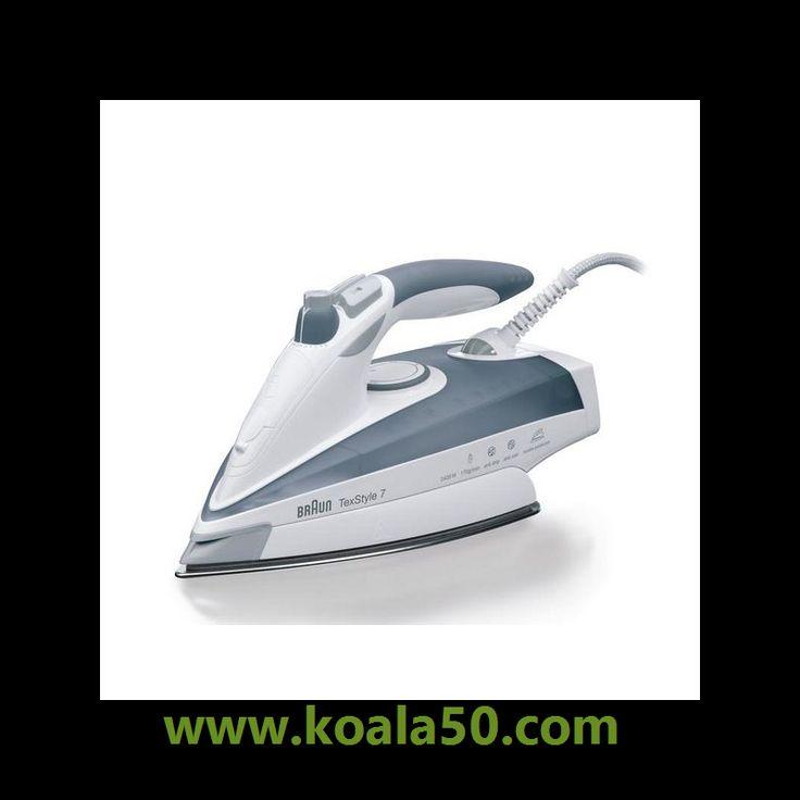Plancha de Vapor Braun TS775TP 2400W - 63,87 €   Si buscas electrodomésticos para tu hogar a los mejores precios, ¡no te pierdas Plancha de Vapor Braun TS775TP 2400W y una amplia selección de pequeño electrodoméstico de calidad!Plancha de...  http://www.koala50.com/secadoras-planchas-tendederos/plancha-de-vapor-braun-ts775tp-2400w
