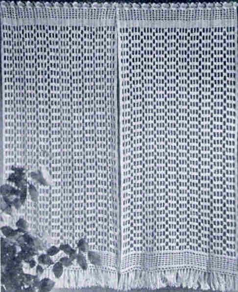 1000+ ideas about Crochet Curtain Pattern on Pinterest | Crochet ...