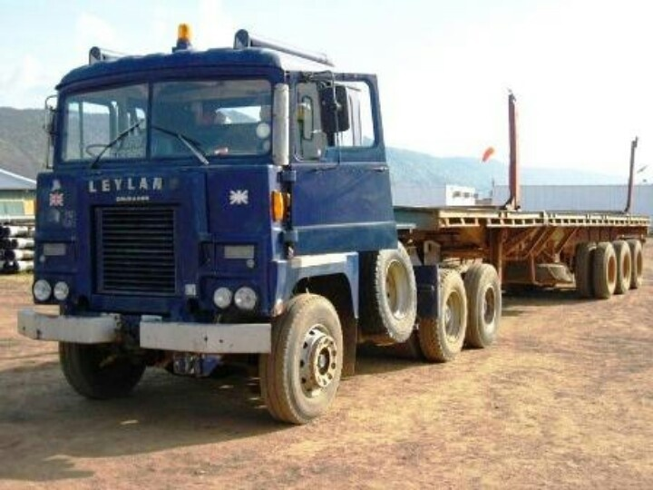 SCAMMELL in Africa