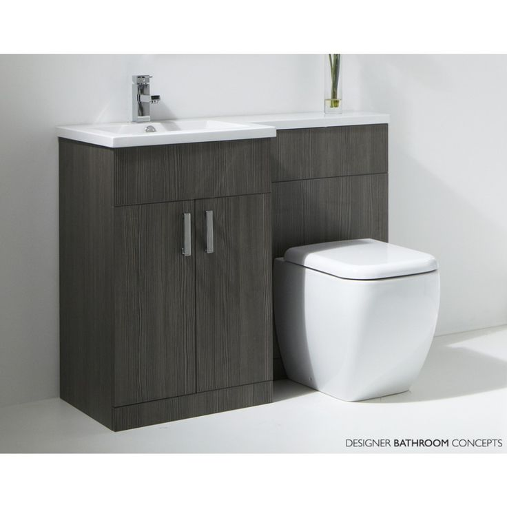 1000 ideas about toilet and sink unit on pinterest - Bathroom combination vanity units ...