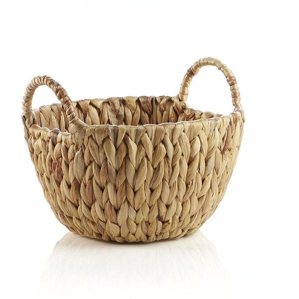Crate & Barrel Havana Small Basket (146.510 IDR) ❤ liked on Polyvore featuring home, home decor, small item storage, decor, baskets, woven basket, rustic home decor, weave basket, rustic baskets and crate and barrel