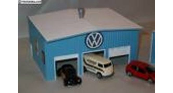 How to make a garage for matchbox cars cartonnage for Garage auto b2