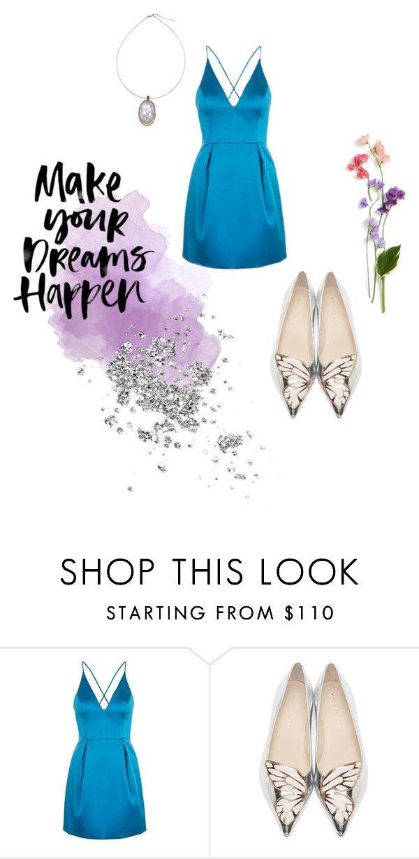"""Cinderella"" by kstew90 on Polyvore featuring Topshop and Sophia Webster"