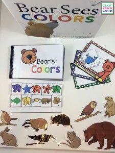 Crazy Speech World: Bear Sees Color activities for speech therapy                                                                                                                                                                                 More
