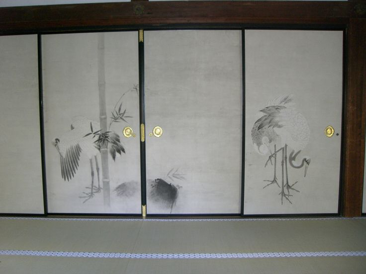 大覚寺 襖絵「四季花鳥の図」狩野山楽