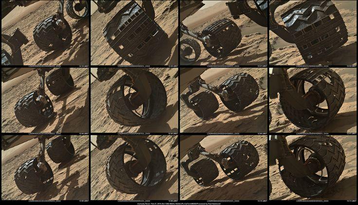 mars rover wheels design - photo #40