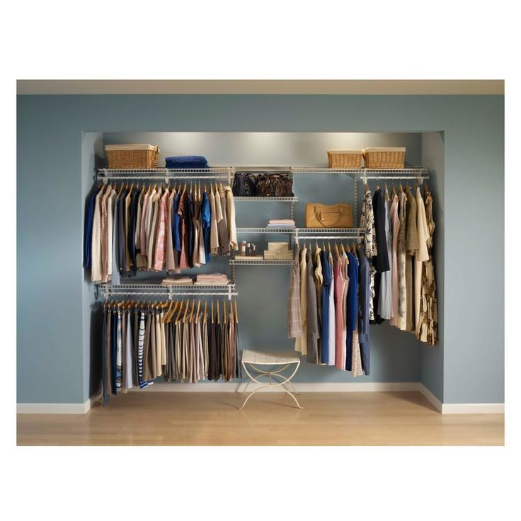 ShelfTrack Wardrobe Kit 2.1x3m - Masters Home Improvement