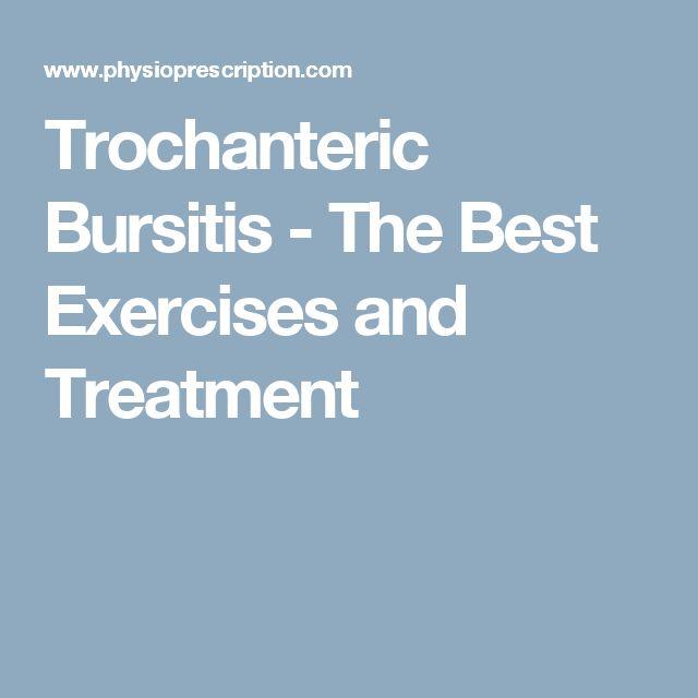 Best 25 Hip Bursitis Exercises Ideas On Pinterest Hip