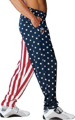 Otomix Men's American Flag USA Baggy Workout Pants X-Large