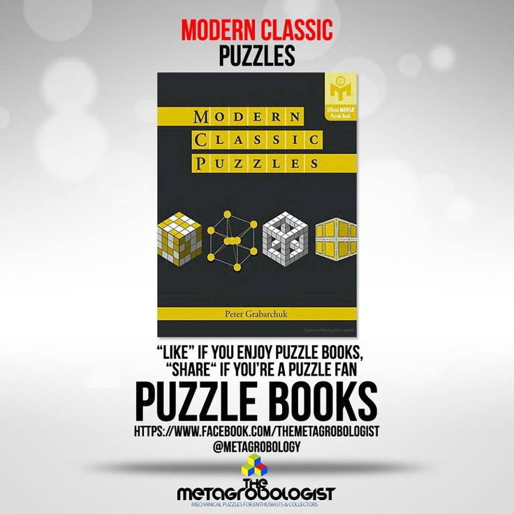 Modern Classic Puzzles By Peter Grabarchuk