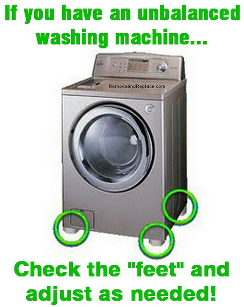 balancing washing machine