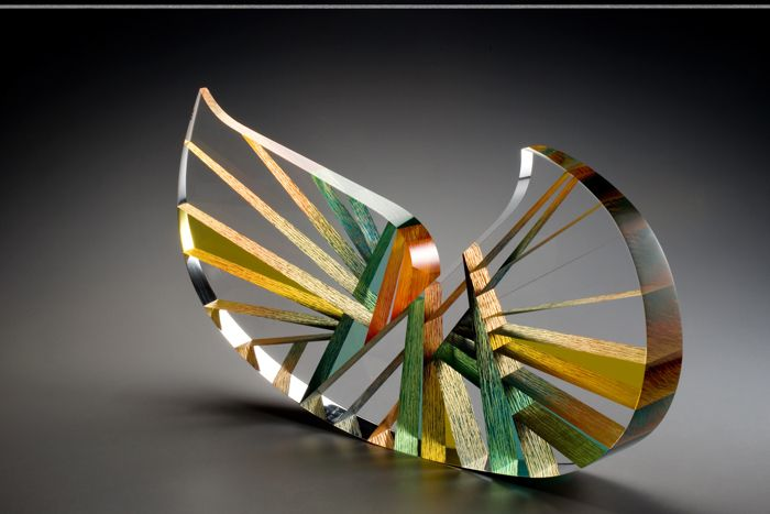 'Wave' is produced by Pavel Hlava (1924-2003) in 2002.