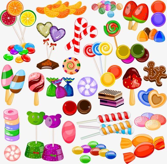 ناقلات الكرتون مصاصة حر Png و سهم التوجيه Caramelos Dibujos Caramelos Llenos De Color Arte De Caramelos