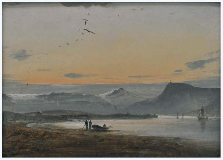 View of Tromso, 1847