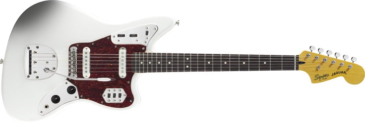 Vintage Modified Jaguar® - Freaking great to play, tons of different possible sounds, and looks cool to boot.  White pickguard plz!