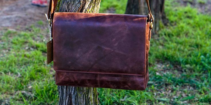 Vintage Handmade Laptop Bag