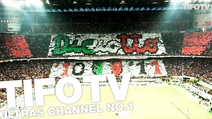 CURVA SUD MILANO. .. CHOREO 'DICIOTTO' - Ultras Channel No.1