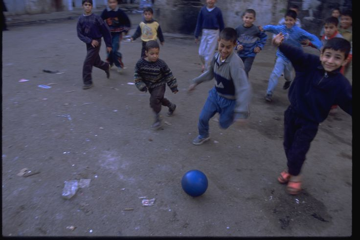 """UNICEF said; """"The beloved soccer ball is an instant symbol of friendship and play."""""""