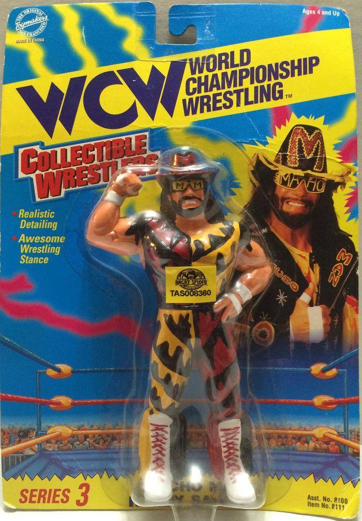 "(TAS032356) - 1994 OSFTM WCW Wrestler Series 3 - ""Macho man"" Randy Savage"