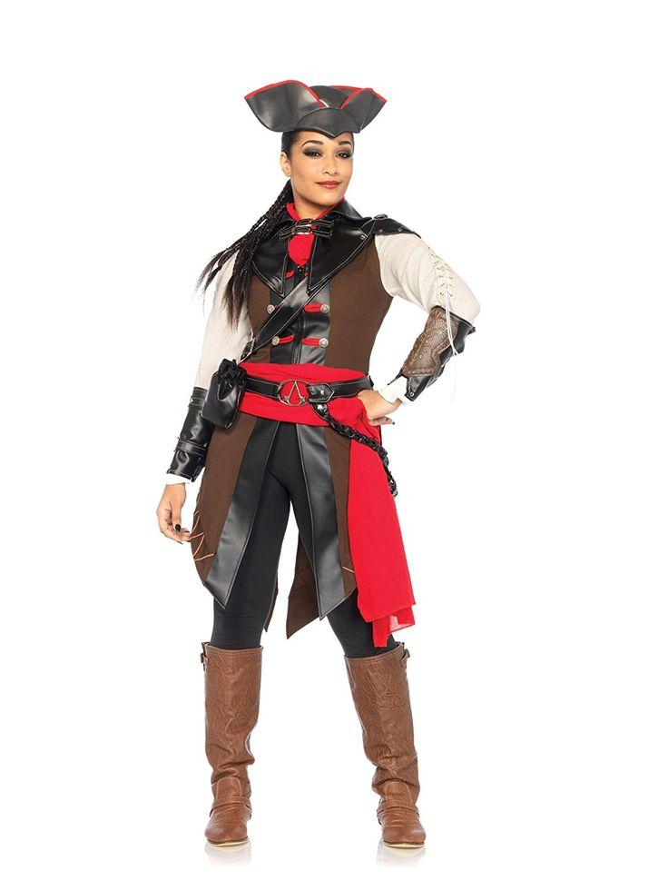 Leg Avenue Womenu0027s Assassinu0027s Creed 8 Piece Aveline Deluxe Costume Cosplay u003eu003eu003e Quickly view  sc 1 st  Pinterest & The 244 best Halloween costumes images on Pinterest | Halloween ...
