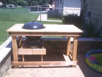 1000 ideas about grill station on pinterest patio for Outdoor cooking station plans