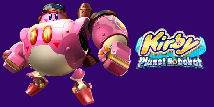 SAVE PLANET POPSTAR FROM A ROBOTIC ARMY WHEN KIRBY: PLANET ROBOBO