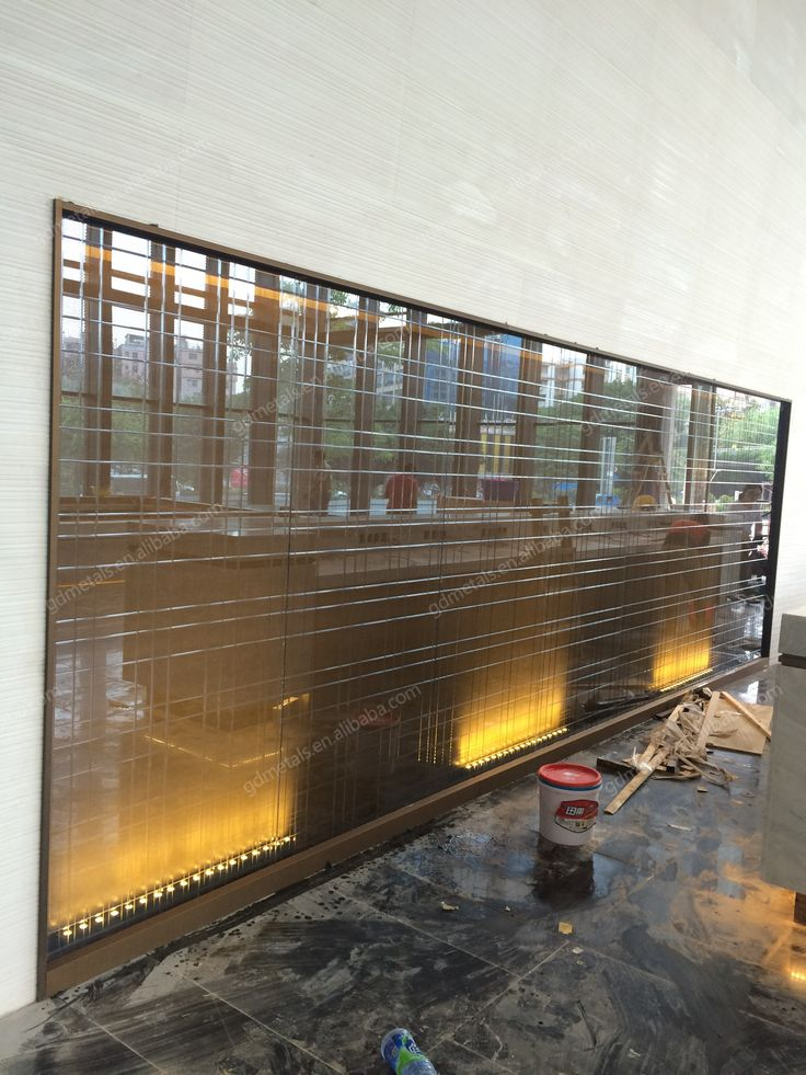 LED Stainless steel wall panel