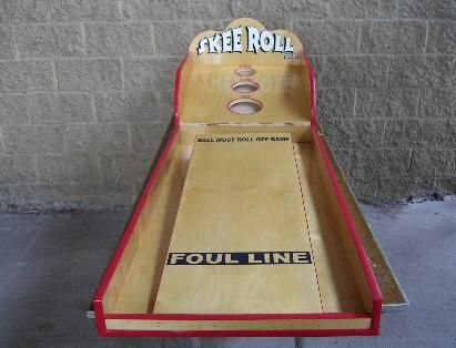 how to make a skee ball game out of wood