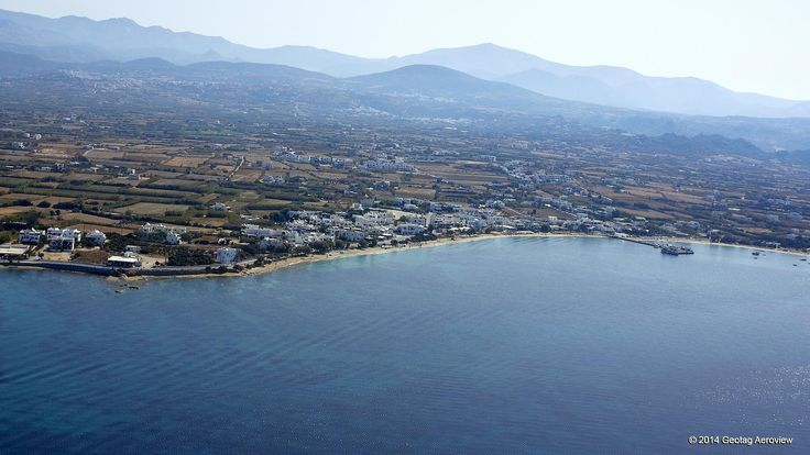 Agios Prokopios in Naxos, Cyclades: This 2 km long beach of Agios Prokopios in Naxos,Cyclades is among the most beautiful beaches of the Mediterranean.Have fun with cool watersports or just relax! #AgiosProkopios #Naxos #aerialphotos #aerialvideos #Cyclades #SouthAegean #GoThereBeforeYouGetThere #TrustYourEyes #TRIPinVIEW