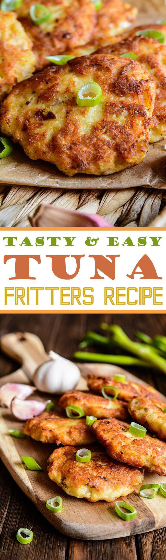 Tasty  Easy Tuna Fritters Recipe | Fish Recipes | Pan Baked | Tuna Recipes | Cooking | Food Blog | Yummy