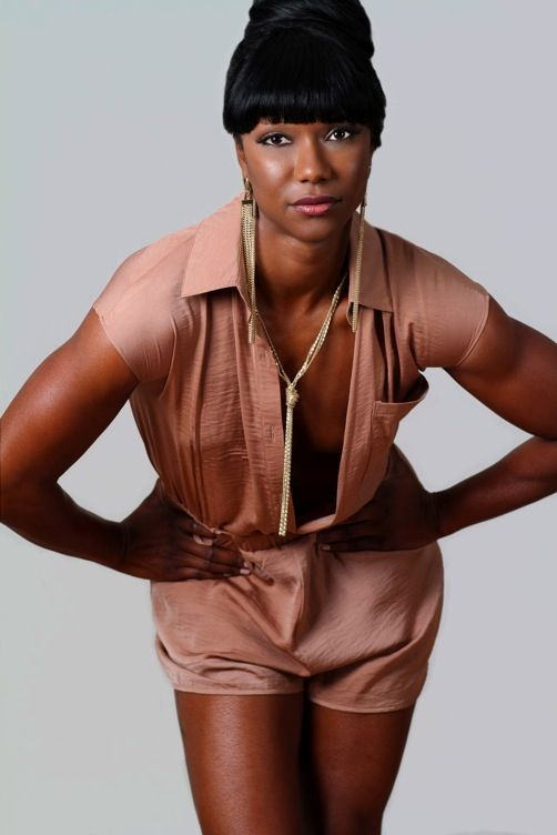 Gorgeoous! Carmelita Jeter (Team USA Sprinter)