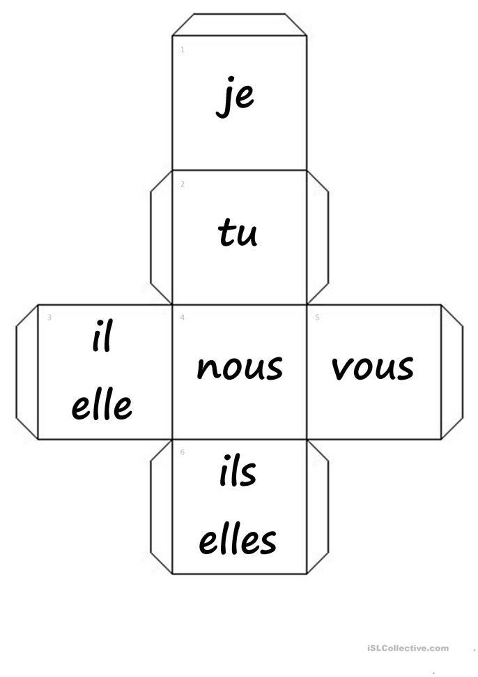 dés-pronoms personnels+verbes