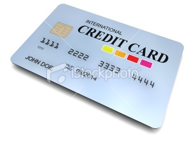3D-modeled international credit card, with a chip, cropped on a white background, representing concepts such as business, consumerism, money and shopping | Stock Photo | iStock