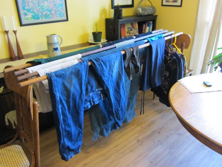 1000 images about indoor clothes drying on pinterest. Black Bedroom Furniture Sets. Home Design Ideas