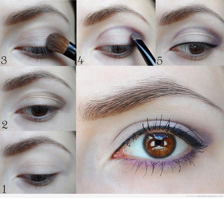 20 Tutoriales de Maquillaje Para ojos Marrones