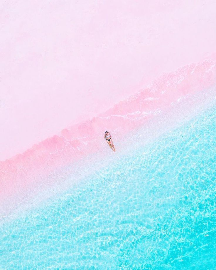 Pink Beach, Indonesia