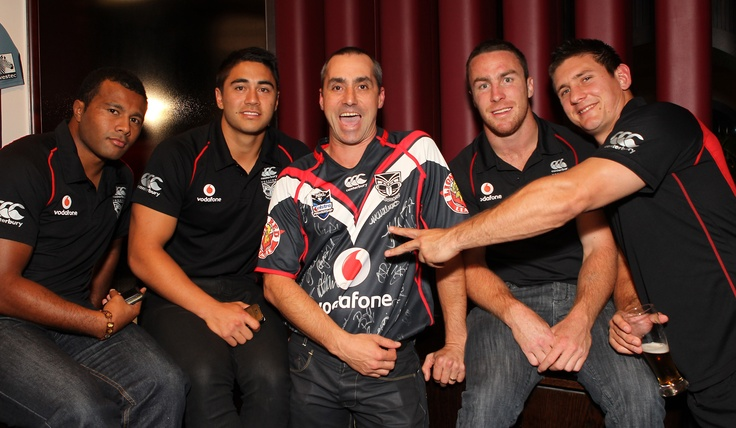 @ The Nation's Clubrooms - D'Arcy Waldegrave with the Vodafone Warriors
