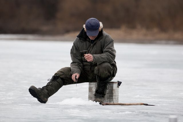 Hopeful anglers can try their hand at ice fishing during a clinic Saturday, Jan. 26, at Strawberry Reservoir.